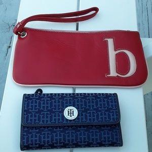 Handbags - Tommy HILFIGER  wallet and Fiona lang wrislet